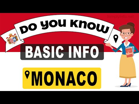 Do You Know Monaco Basic Information | World Countries Information #117- General Knowledge & Quizzes