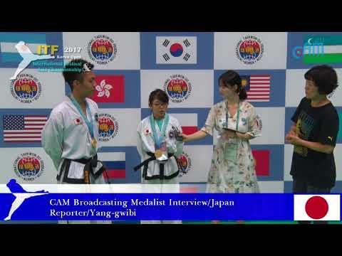 CAM Broadcasting Medalist Interview / Japan