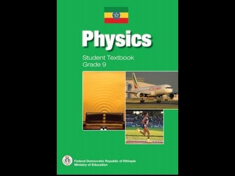 ITec Ketema Ethiopian Grade 9 Physics Student Textbook Pdf Free Download 2019
