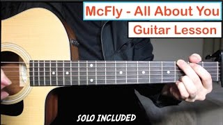 McFly - All About You | Guitar Lesson (Tutorial) How to play Chords