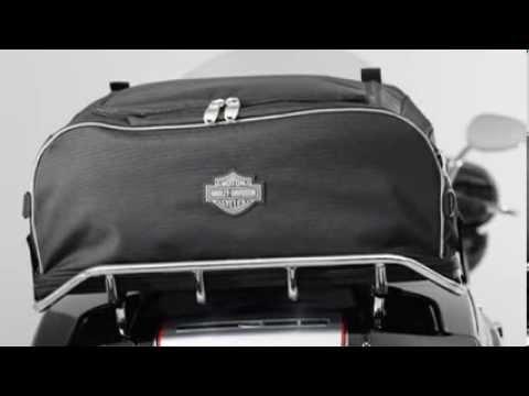Harley Davidson Collapsible Rack Bag 93300009