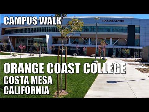 ????ORANGE COAST COLLEGE | CALIFORNIA | 4K Campus Walk