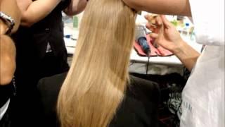 Venexiana Backstage Hair Side Rolls MBFW NY SS 2012 Anastasia Lambrou Thumbnail