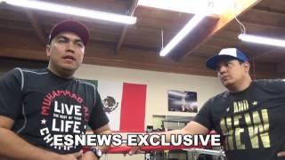 canelo trainer eddie reynoso answering ggg trainer abel sanchez - EsNews Boxing