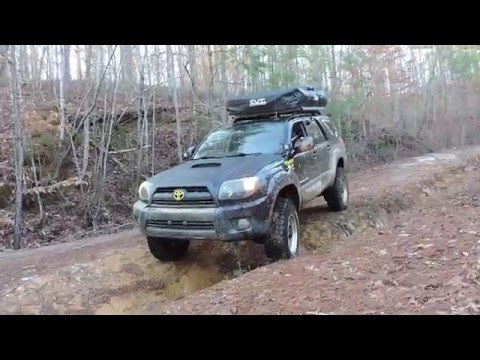 Peach State Overland Goes To Talladega National Forest