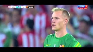 Mikel san jose goal - athletic bilbao vs fc barcelona 40 (spain supercup 2015) hd 4-0 jose...