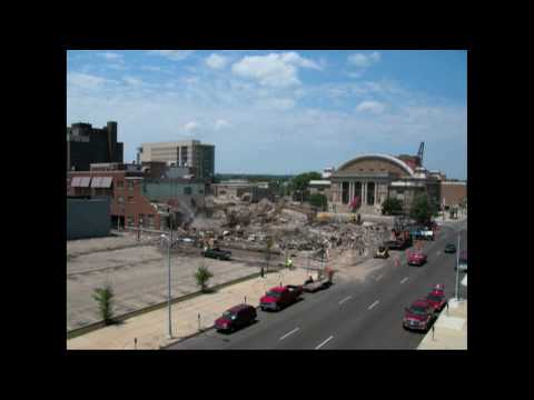 Time Lapse Demolition of Patterson Cooperative High School