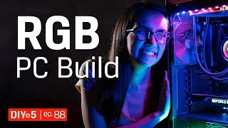 PC Build - How To Choose An RGB PC Lighting System - DIY in 5 Ep 88