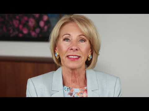 Secretary Betsy DeVos—Message to America's Parents