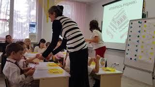 Открытый урок украинского
