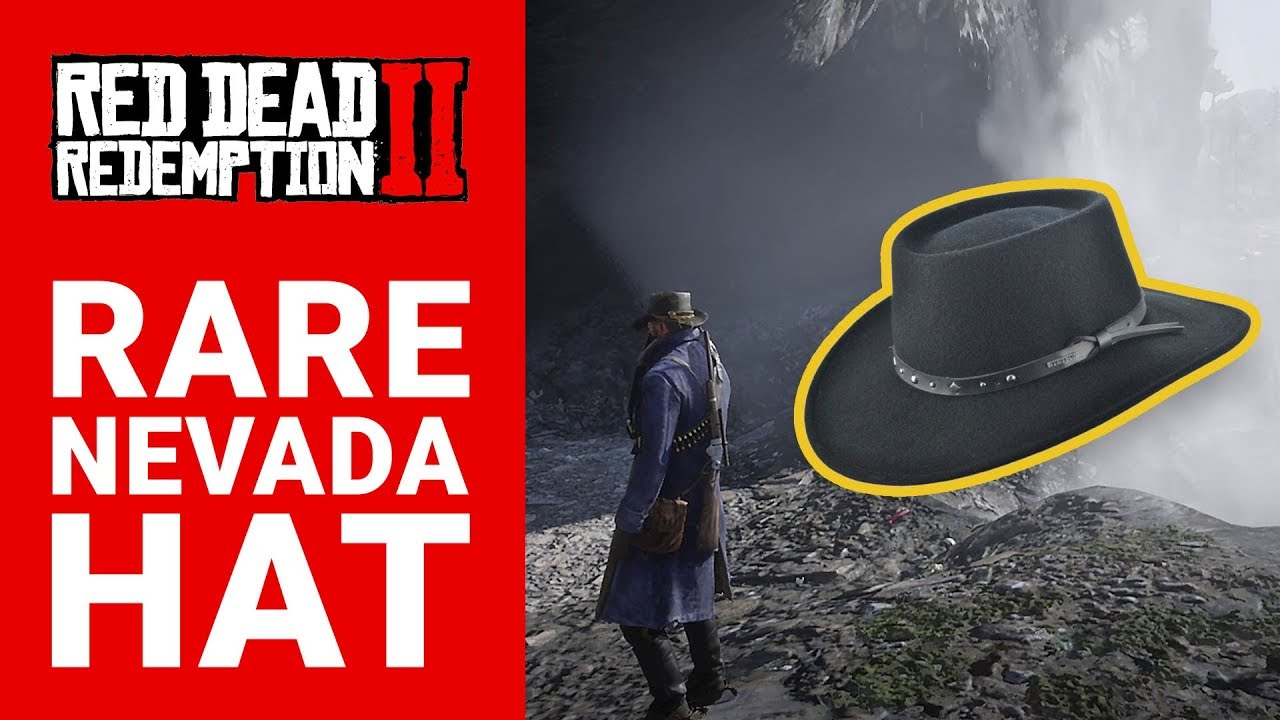 How to Find a Rare Nevada Hat Location and Robert Elliot Patchen Note in  Red Dead Redemption 2