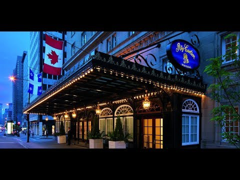 Hotel Tour & Review of The Ritz-Carlton (FIRST RITZ CARLTON) in Montreal, QC