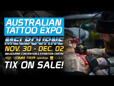 Australian Tattoo Expo Melbourne - Tickets On Sale Now! November 30 - December 02
