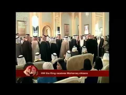 HM the King receives citizens from the Muharraq Governorate