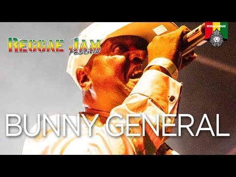 Bunny General Live at Reggae Jam Germany 2018