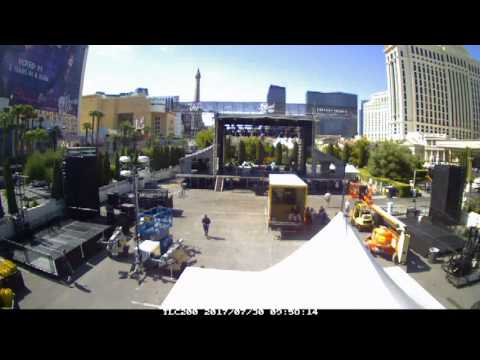 Jimmy Kimmel Live @ Caesars Palace - Timelapse - In/Show/Out for a 7/31/17 Broadcast.