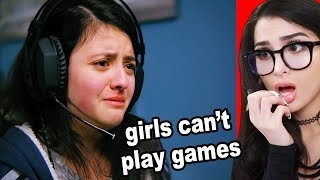 Girl Gamer Gets Bullied By Kid At School ft SSSniperWolf