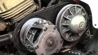 Polaris Trailblazer 250 - Belt and Secondary Clutch Removal