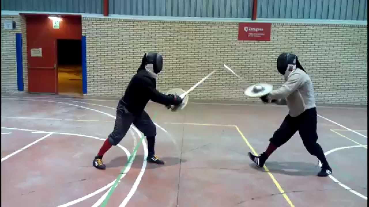Sword & Buckler sparring