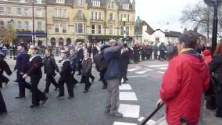Bury's Remembrance  Day Parade 2010