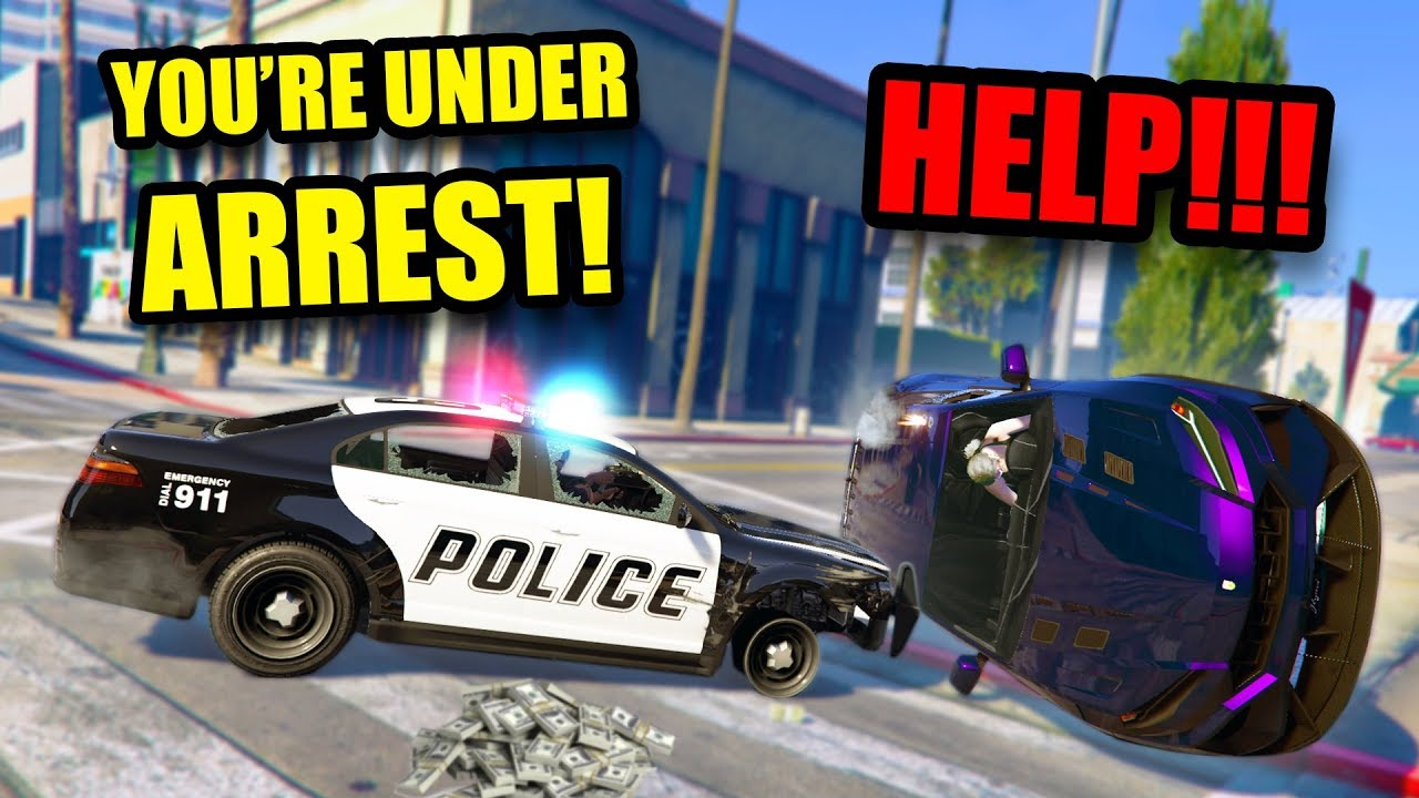 MAKING PEOPLE THINK I'M A REAL COP! *HILARIOUS!* | GTA 5 THUG LIFE #224