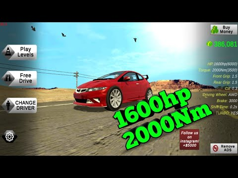HOW TO MAKE 1600HP AND 2000NM TORQUE || Car Parking Multiplayer