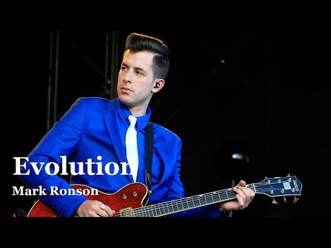 evolution of mark ronson songs