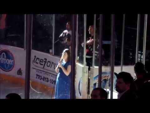 The National Anthem at Gwinnett Arena