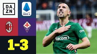 Standing Ovations! Mailänder Publikum würdigt Ribery-Gala: AC Mailand - Florenz 1:3 | Serie A | DAZN