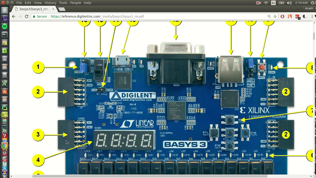 Basys 3 Tutorials Part 1: How to Download and Install Xilinx