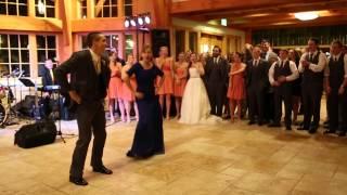 母子在婚禮熱舞~新娘看了傻眼