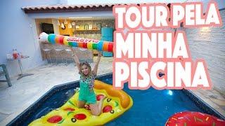 TOUR ESPAÇO GOURMET + PISCINA #CASANOVA
