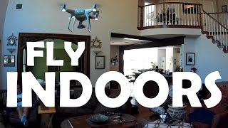 DJI Phantom 4 - Flying INDOORS
