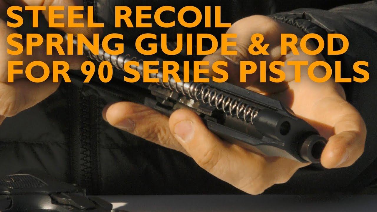 Beretta 92/96/98 FS - Steel Recoil Spring Guide & Rod