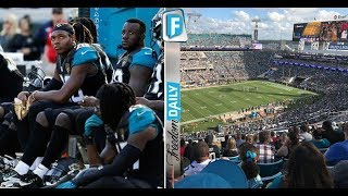 Kneeling Jaguar & Rams Players HORRIFIED By What They See Overhead During Nasty Anthem Protest