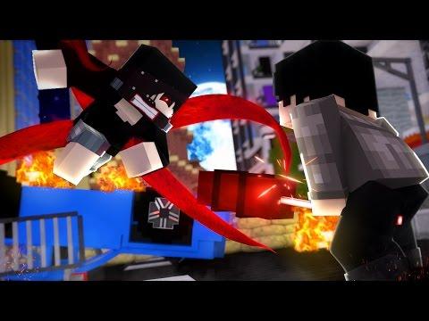 Minecraft TOKYO GHOUL - KANEKI VS AMON #9 ‹ Sky ›