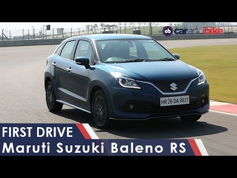 Maruti Suzuki Baleno RS First Drive Review - NDTV CarAndBike