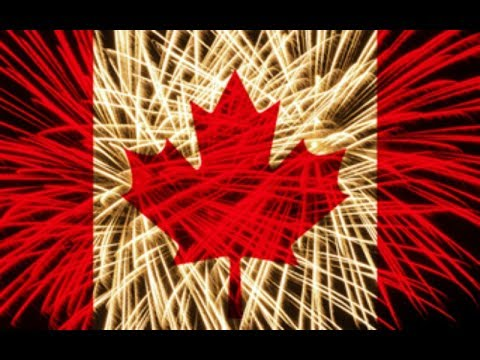 Canada Day 150 fireworks in Calgary