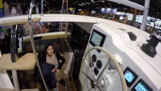 Salon Nautique Paris 2016: Fountaine Pajot Catamaran Lucia 40