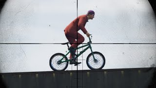 SNIPERS vs BICYCLES!? (GTA 5 Funny Moments)