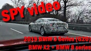 Spy video: BMW 8 series, BMW 3 Series G20 + BMW X2