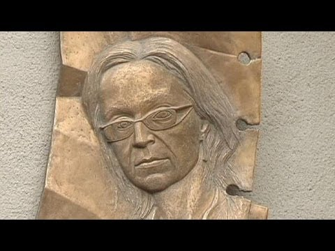 Memorial marks 7th anniversary of murder of Russian journalist Anna Politkovskaya