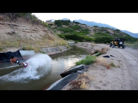 Canal Boarding – Ghetto Wakeboarding