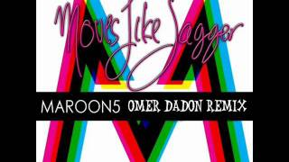 Maroon 5 - Moves Like Jagger ft. Christina Aguilera (Omer Dadon Remix)