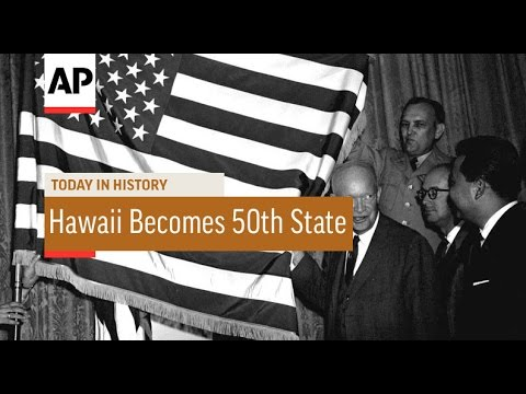 Hawaii Becomes 50th State - 1959 | Today in History | 21 Aug 16