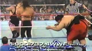 Yokozuna Owen Hart vs Chuck Williams David Thornberg