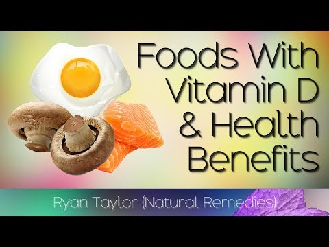Foods Rich In: Vitamin D