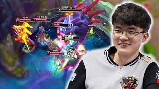 Here's The INSANE Faker Baron Steal You Watch League of Legends Highlights For! - LoL Stream Moments