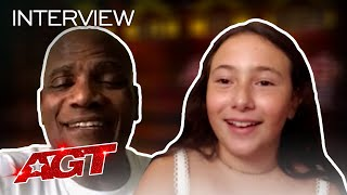 Roberta Battaglia and Archie Williams Chat About Making AGT History! - America's Got Talent 2020