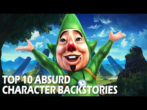 Top 10 Absurd Character Backstories   Video Game Character Lore